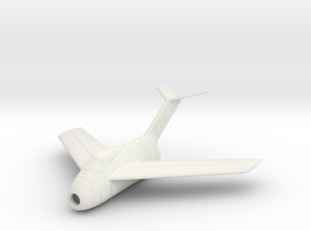 1/100 Focke-Wulf Ta-183 in White Strong & Flexible