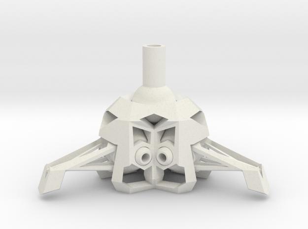 RWEkne002 in White Natural Versatile Plastic