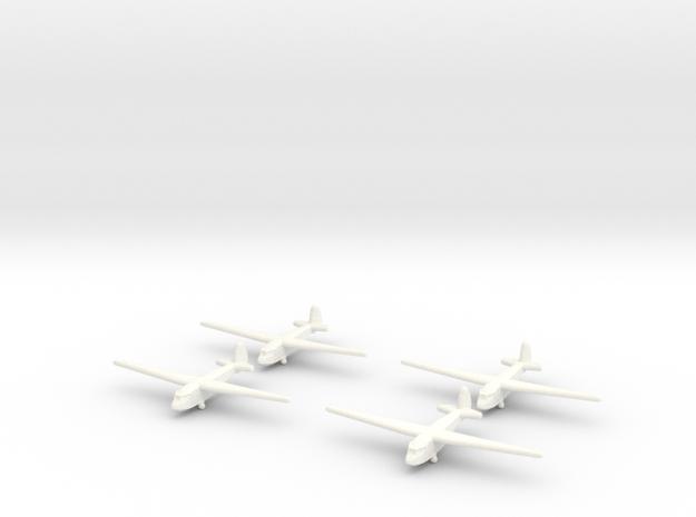 A-7 Glider (Russian)-1/700-(Qty. 4) in White Processed Versatile Plastic