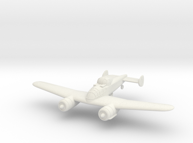 1/100 Bristol F.11/37 (wheels optional) in White Strong & Flexible