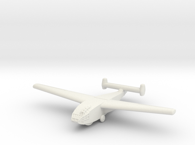 DFS-331 German Glider -1/700 Scale -(Qty. 1) in White Natural Versatile Plastic