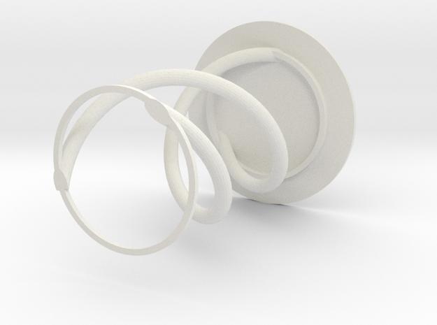 DNA PenHolder in White Natural Versatile Plastic