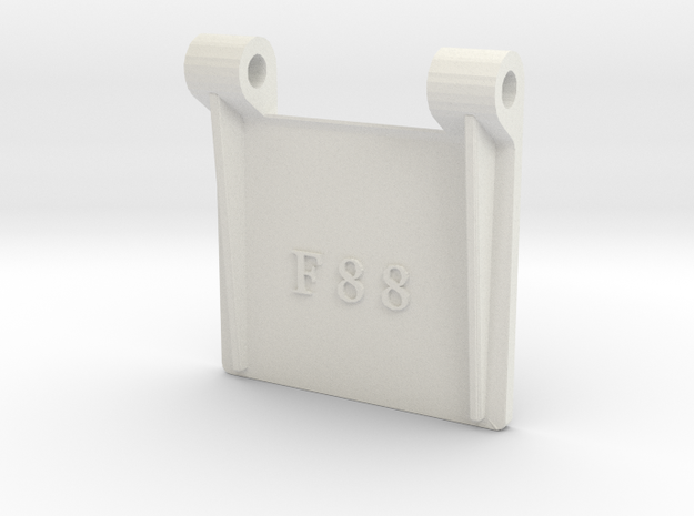 F88 - 1-8th Scale in White Natural Versatile Plastic