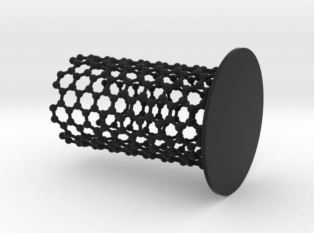 NanoTube Pen Holder 3d printed Pen Holder Nano Carbon / Nano Tube