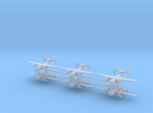 1/600 C-2A Greyhound (x6) in Smooth Fine Detail Plastic