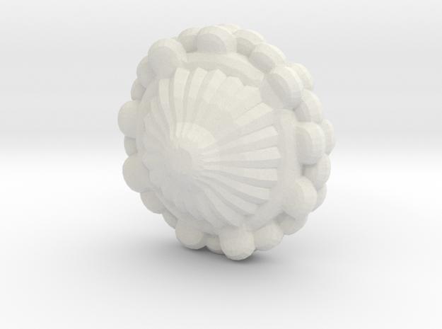 Xxcha Spacedock in White Natural Versatile Plastic