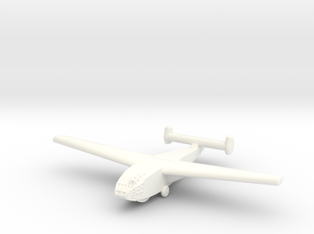 DFS-331 German Glider-1/285 Scale (Qty. 1) in White Strong & Flexible Polished