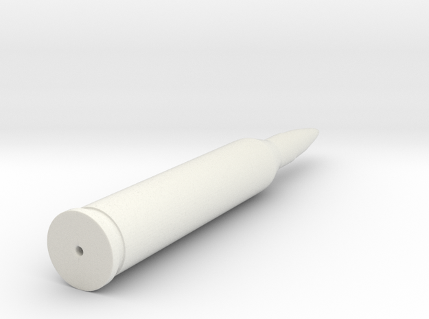 556x45mm-bullet in White Natural Versatile Plastic
