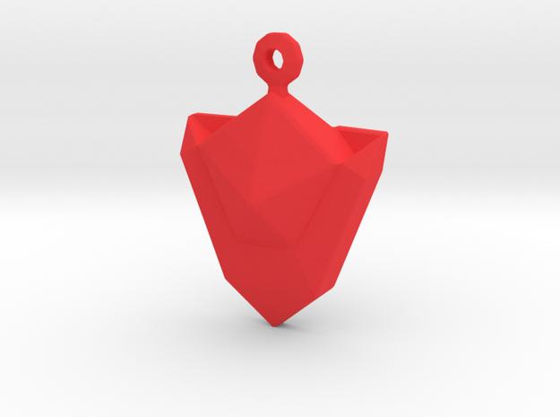 Zelda Din Gem in Red Strong & Flexible Polished