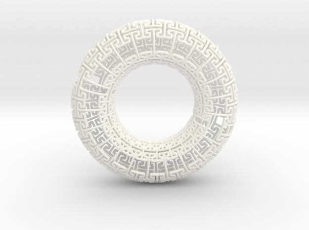 Undead Torus Revisited 3d printed