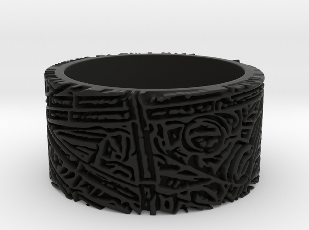 Bamboo Ring Size 10 3d printed