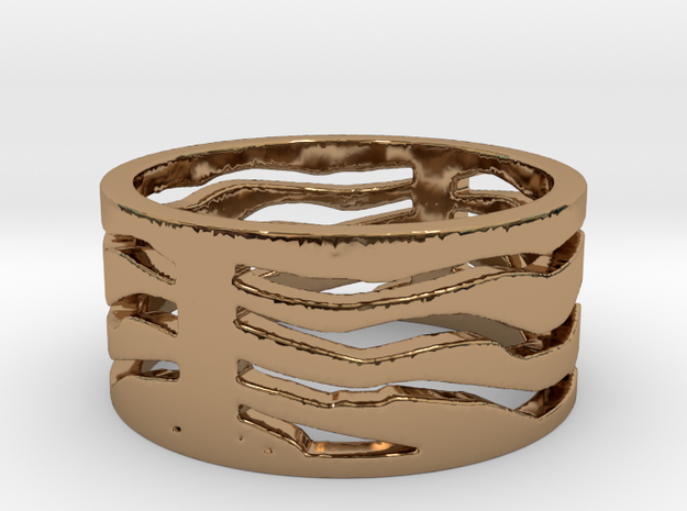 Safari ring 3d printed