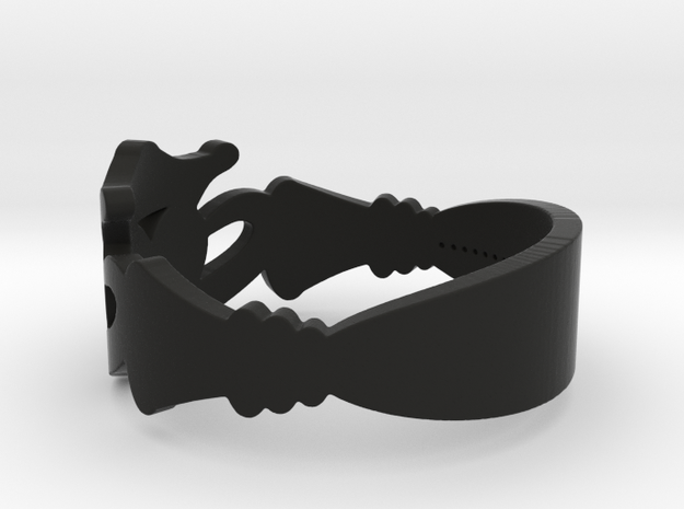 My Awesome Claddah Ring Size 13 3d printed
