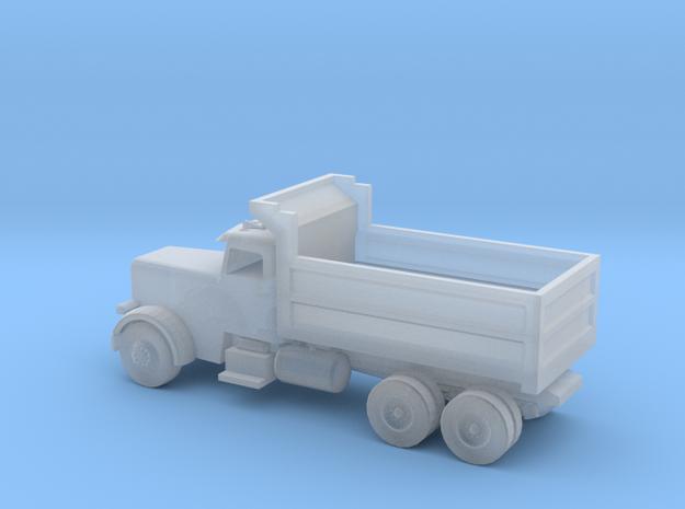 Dump Truck in Smooth Fine Detail Plastic