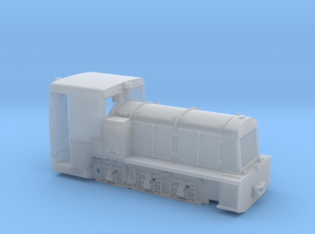 Französische Feldbahnlok Billard T100 1:35 3d printed