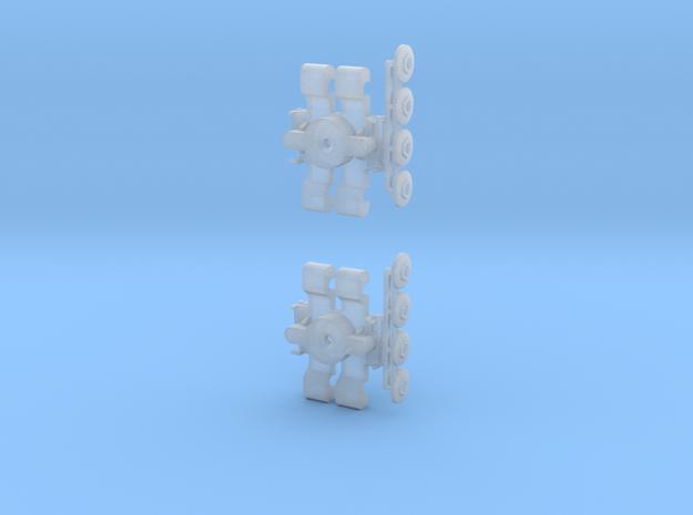 Drehgestell B3D und B4D 1:160 in Smooth Fine Detail Plastic