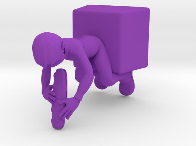 Guy Eating Sandwich 3d printed