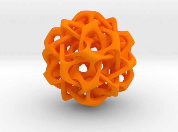 Dodecahedron IV, large 3d printed