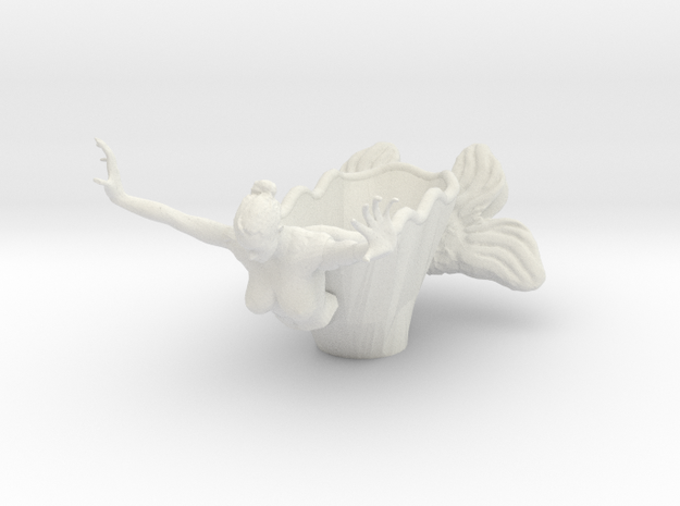Mermaid Bowl Done 3d printed