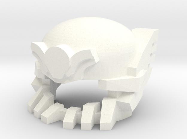 Robohelmet: Wrecked Leader 3d printed