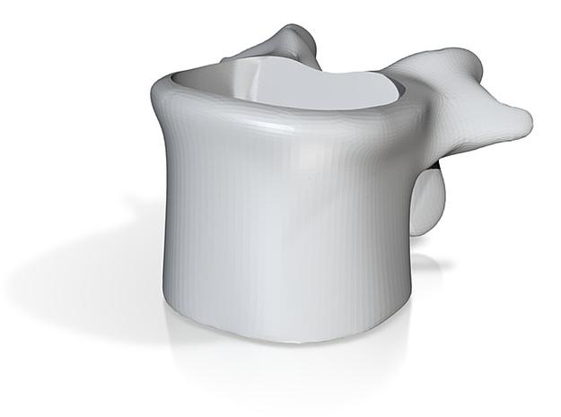 Wervelkoffiekop schaal 2:1 3d printed