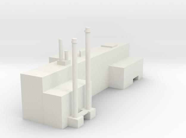 Factory in White Natural Versatile Plastic