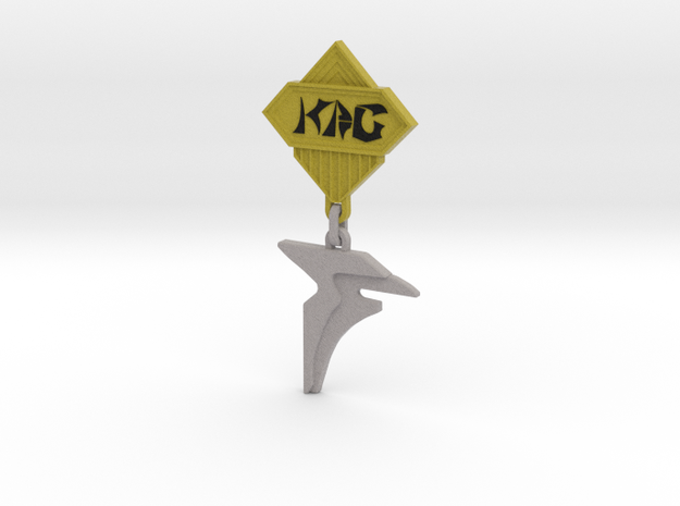 Klingon Campaign medal [KAG] 3d printed