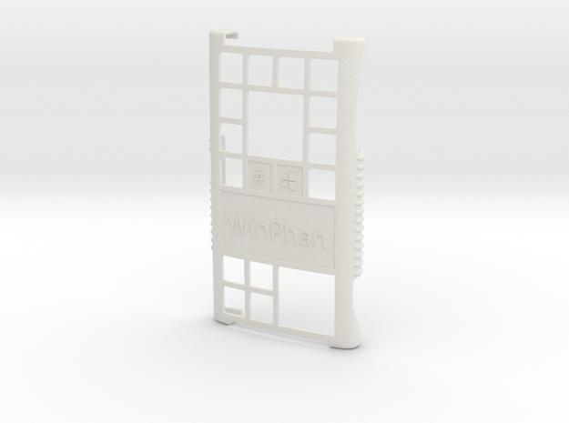 Lumia 920 WinPhan case in White Natural Versatile Plastic