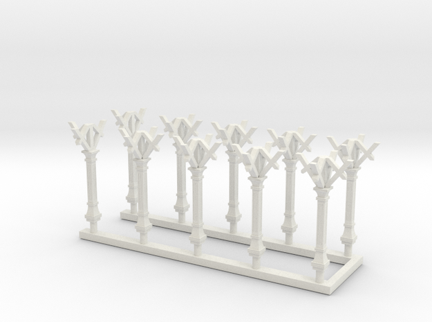 LBSC Canopy Support in White Natural Versatile Plastic