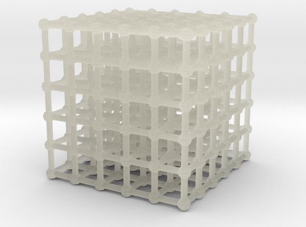 cube matrix (large) in Transparent Acrylic