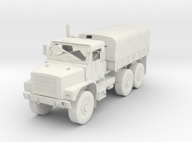 Army Truck in White Natural Versatile Plastic