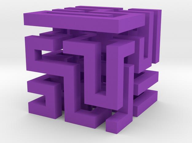 Cube Maze 3d printed