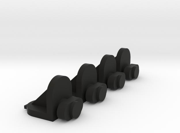 4x Twist-in Shelf Pin 3d printed