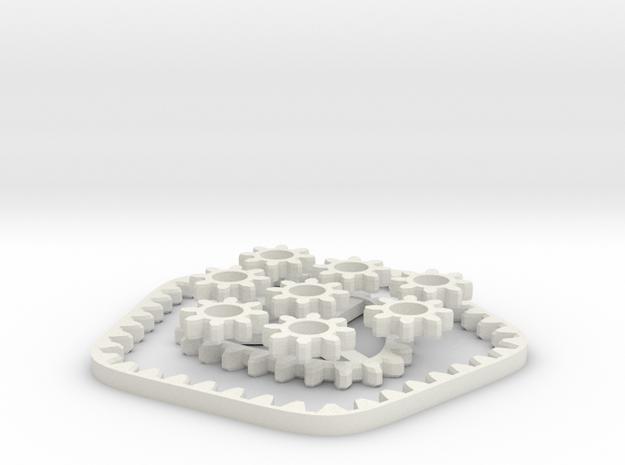 Hypotrochoidgear X5 3d printed