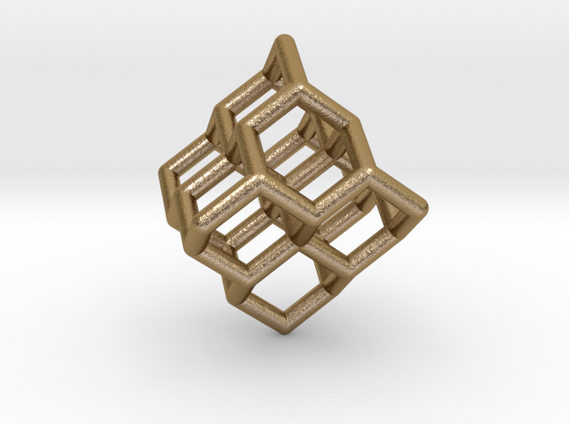 Diamond structure (small) 3d printed