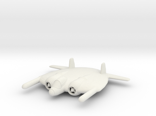 1/200 Vought XF-5U 'Flying Flapjack' 3d printed