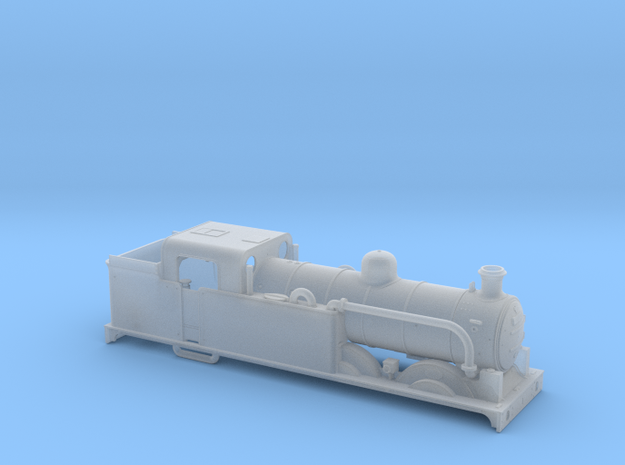 AJModels P02A Ivatt N1 Superheated with Condenser in Smooth Fine Detail Plastic