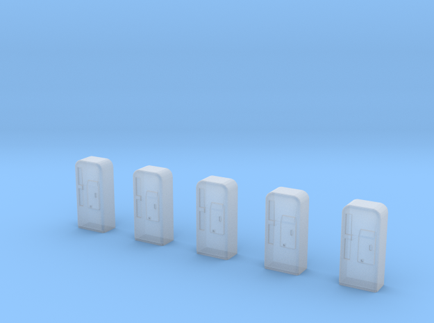 S-Scale 1955 Soda Machine (5 Pack) 3d printed