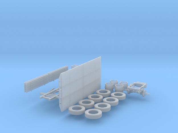 LKW Anhänger 1:45 in Smooth Fine Detail Plastic