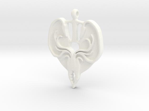 Game of Thrones Greyjoy in White Natural Versatile Plastic