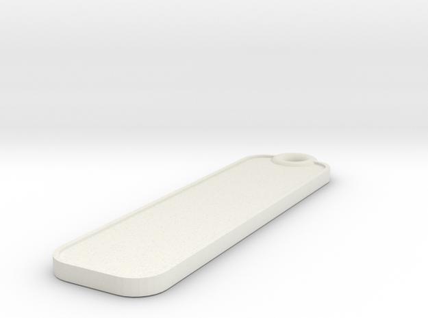 Key Fob - Plain 3d printed
