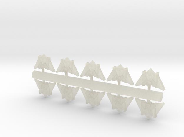 10 Arachnid Interceptors 3d printed