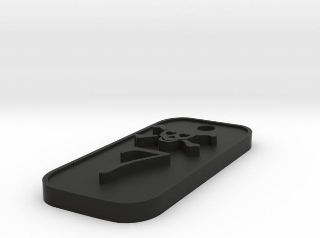 CISKY keychain 6cm Lunghezza 3d printed