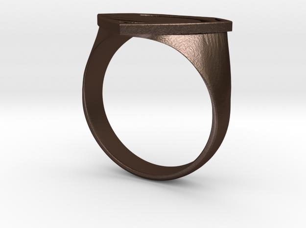 Man Of Steel - Ring 3d printed
