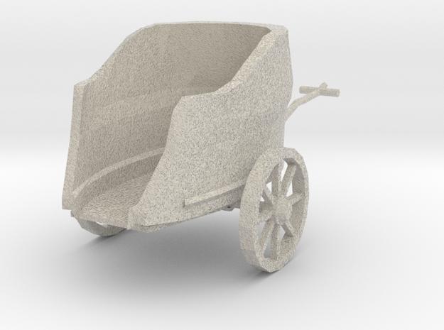 Chariot Bronze 3d printed