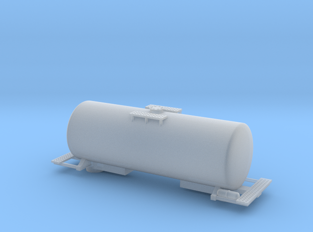 Acid Tank Car - Zscale in Frosted Ultra Detail