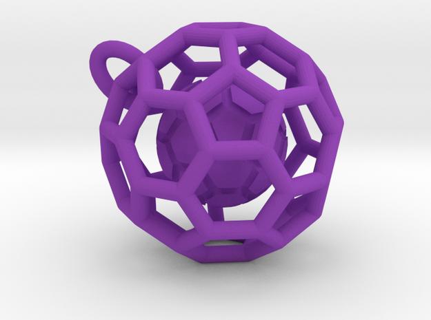 Pendant (Soccer Ball)a 3d printed