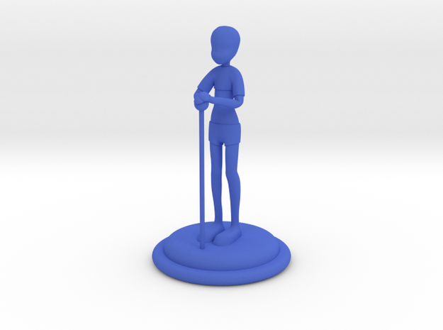 The Patient  One 10cm 3d printed