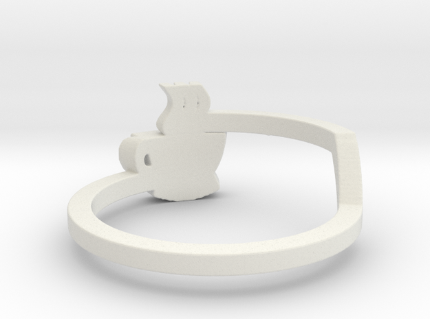 Hot Coffee Ring Size 7 3d printed