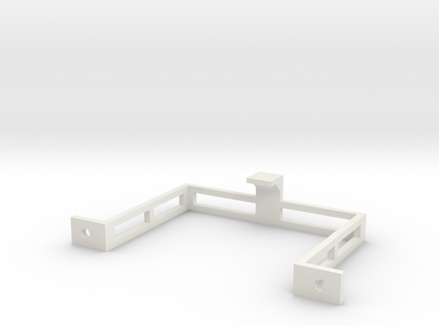 Steckdosen Halterung (Seite) in White Strong & Flexible